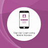 Sign Up/ Login using Mobile Number