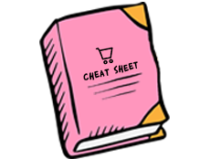 The Ultimate Cheat Sheet for your E-Commerce store